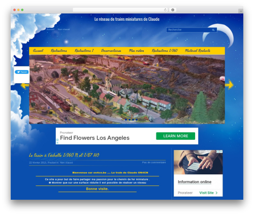 Template WordPress Children - trains.on4cn.be