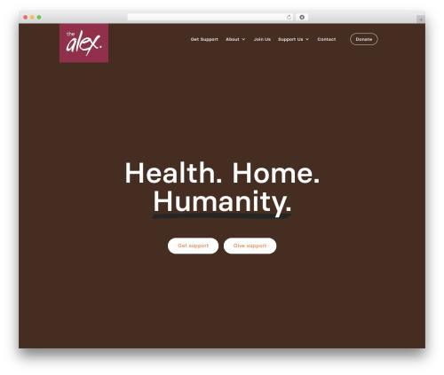Theme WordPress Divi - thealex.ca