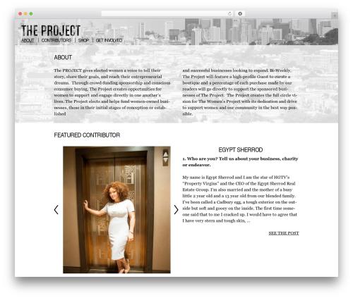 Twenty Thirteen best free WordPress theme - fundtheproject.org