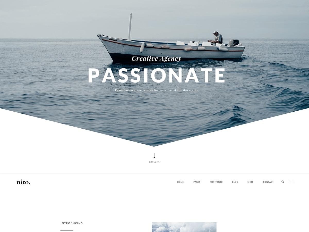 WP Nito WordPress website template
