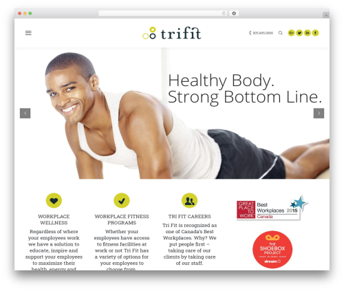 WP template The7 - trifit.com