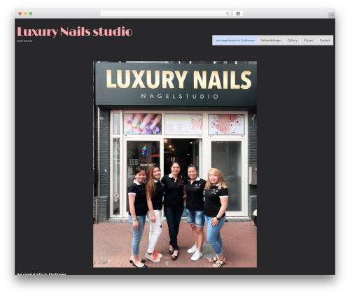 cherry WP template - luxurynails.nl