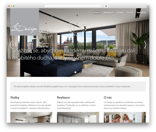 Hero WordPress theme - ladesign.cz
