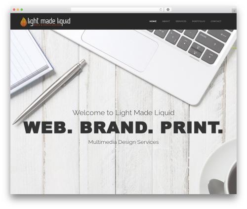 Oscar WordPress theme - lightmadeliquid.com