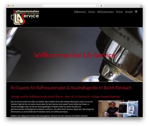 R R Web Parallax Wp Theme By Martin Jansesberger