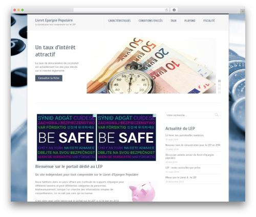 Theme WordPress Company - livret-epargne-populaire.net