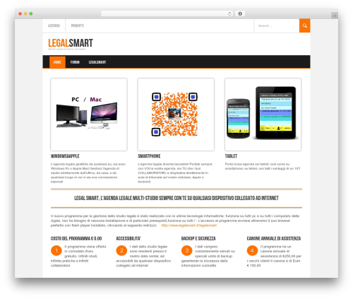 WordPress template Koenda - legalsmart.it