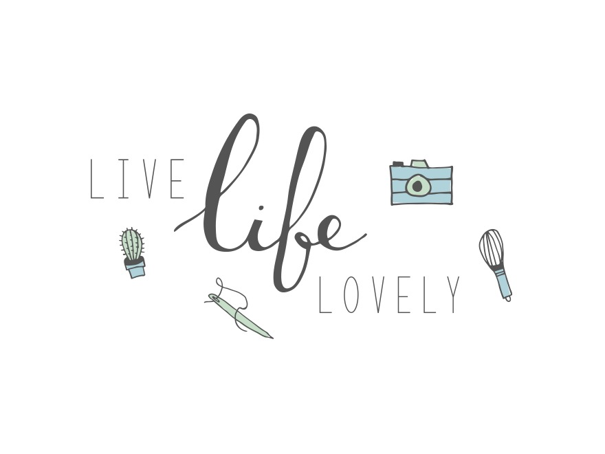 WordPress website template Live Life Lovely