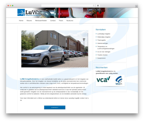 WordPress website template Modular - luwat.nl