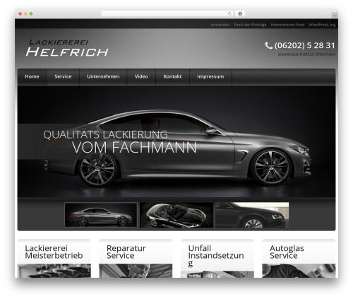 Best WordPress template cherry - lackiererei-helfrich.de