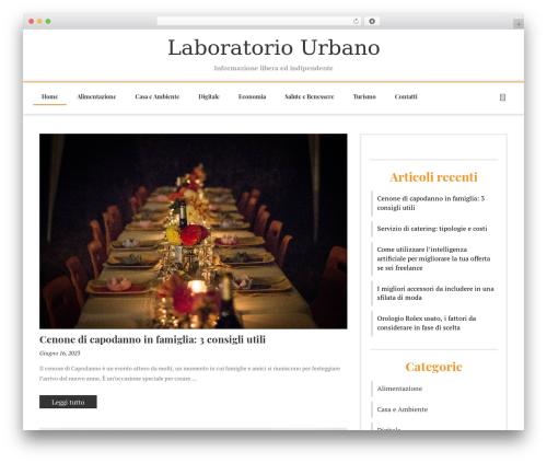Fashiona free WordPress theme - laboratoriourbano.info
