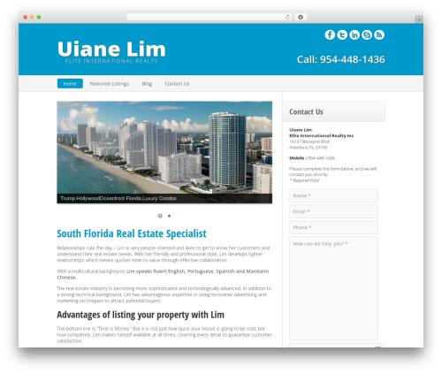 LimRealtor WordPress page template - limrealtor.com