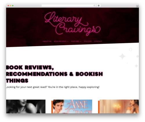 WP template Extra - literarycravings.com