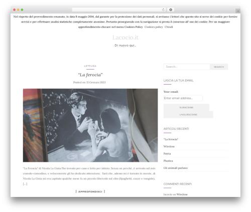 Activello WordPress theme free download - lacocio.it