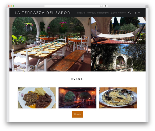 Auberge Plus WP theme - laterrazzadeisapori.com