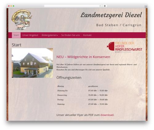 Free WordPress WP Simple Galleries plugin - landmetzgerei-diezel.de