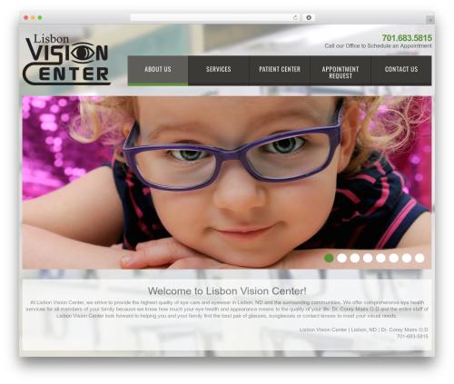 cherry best WordPress theme - lisbonvision.com