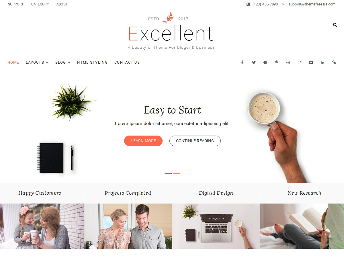 Excellent Child business WordPress theme