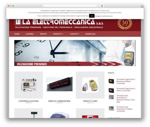 Flatsome top WordPress theme - laelettromeccanica.it