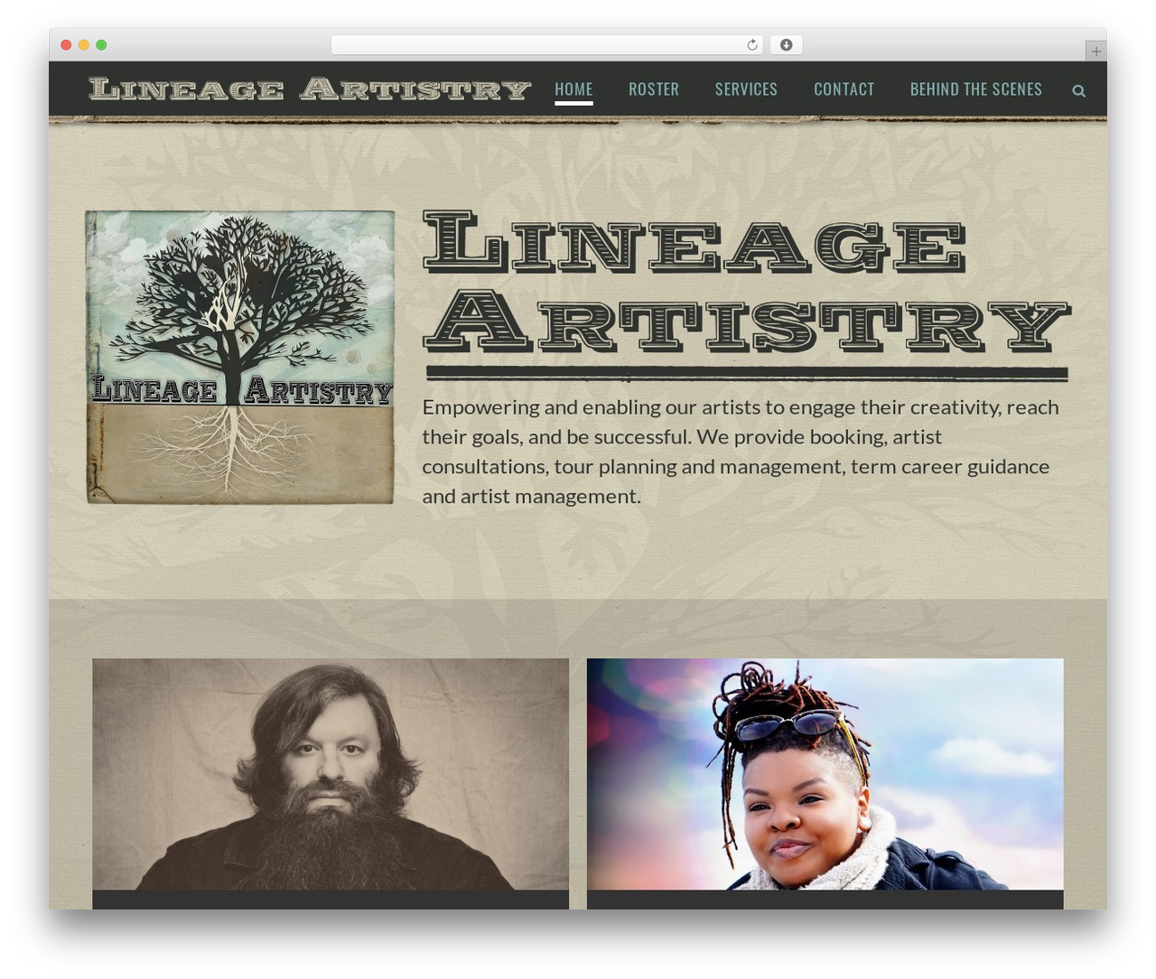 jupiter WordPress theme - lineageartistry.com