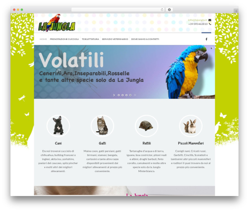 Kidslife template WordPress - lajungla.it