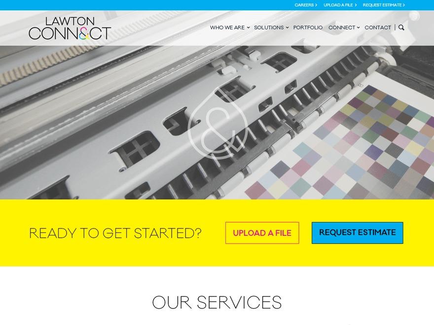 Lawton Connect WordPress theme