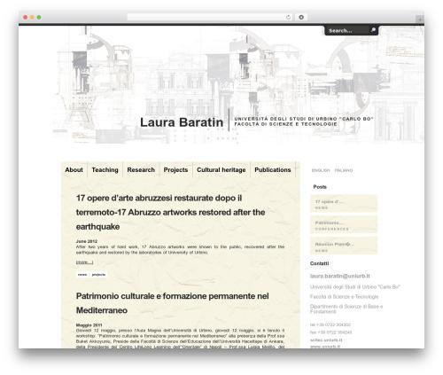 Theme WordPress Handgloves - laurabaratin.com