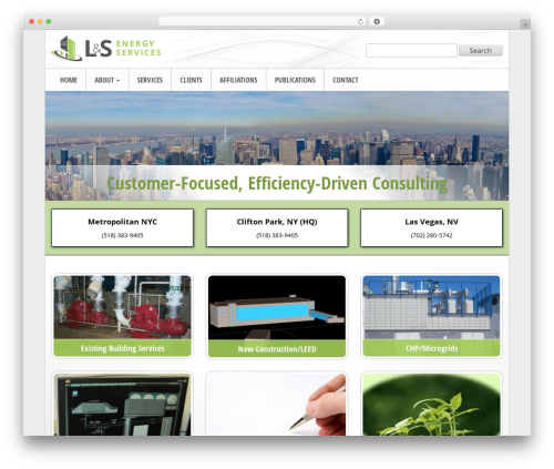 Triggerfish Responsive theme WordPress - ls-energy.com