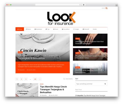 Best WordPress theme MagOne - lookforinsurance.net
