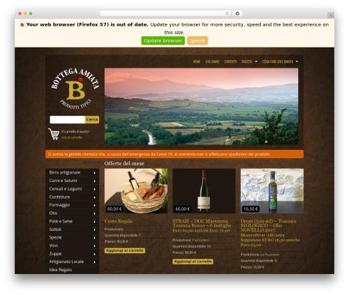 Free WordPress WordPress Ultra Simple Paypal Shopping Cart plugin - labottegadellamiata.it