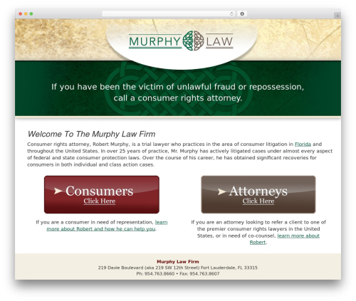 luna free WordPress theme - lawfirmmurphy.com