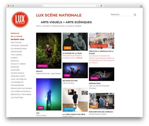 Peak WordPress theme - lux-valence.com