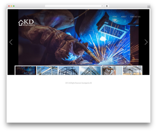 Solus Progression WordPress theme - kdbe.com.au