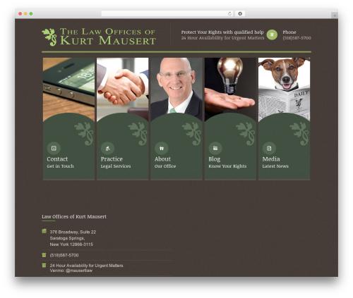 Themis - Law Lawyer Business WordPress Theme WordPress theme - lawyersaratoga.com