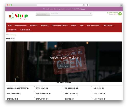 WPO Shopping best WooCommerce theme - likeshopbd.com