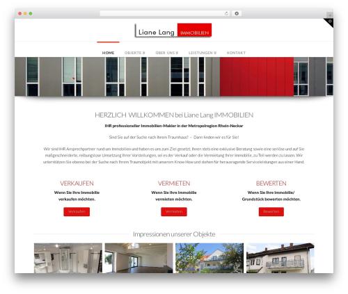 X WordPress theme design - lianelang.de