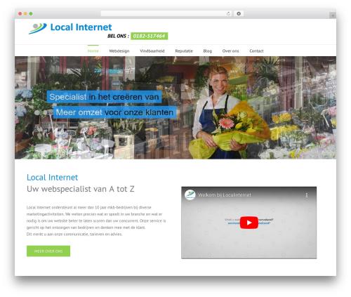 Avada premium WordPress theme - localinternet.nl