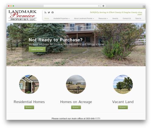 Customizr premium WordPress theme - landmarkpremier.com