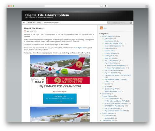 WordPress dlm-page-addon plugin - library.flight1.net