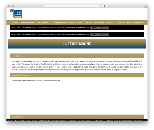 WordPress cff-masonry plugin - lestradedisannicola.it