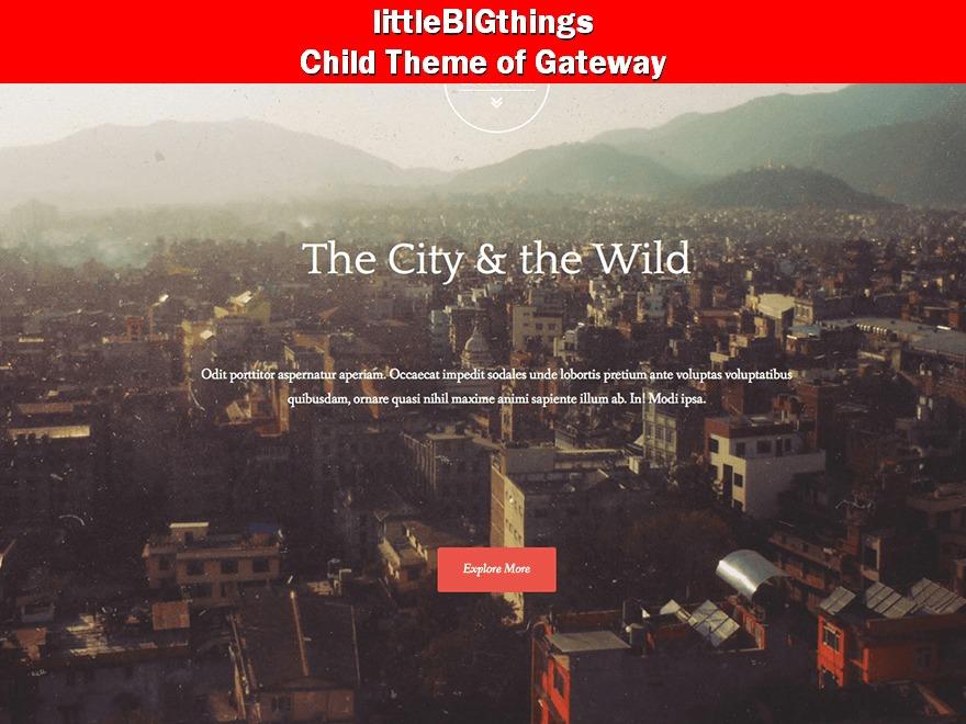 Template WordPress littleBIGthings