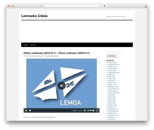 Twenty Ten WordPress template free download - lemoa.eu