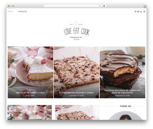 WP theme soledad - loveeatcook.com