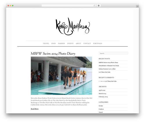 Elemin theme WordPress - kokonez.com