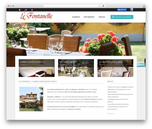 Hotec WordPress theme - lefontanellehotel.it