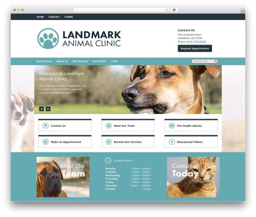 Lifelearn (Theme 7) premium WordPress theme - landmarkvet.com