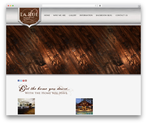 Method business WordPress theme - laruehomes.com