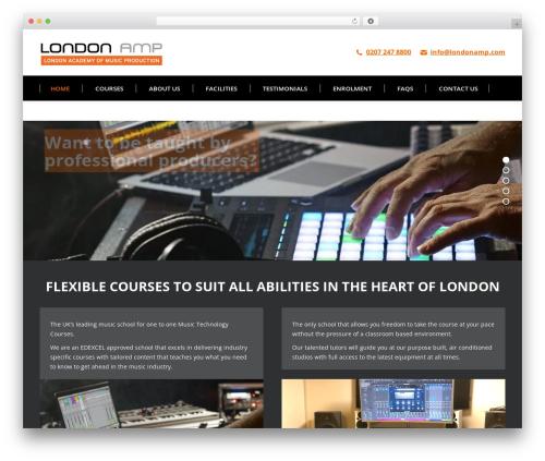 The7 WP theme - londonamp.com