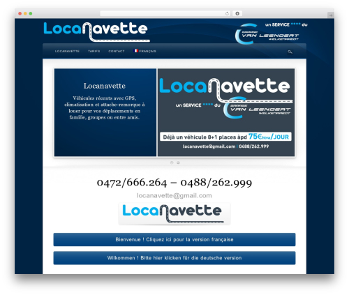 Theme WordPress Wake - locanavette.be