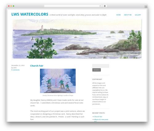 Yoko WordPress theme free download - lwswatercolors.com